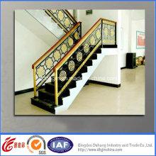 Garde-corps en fer forgé de style chinois résidentiel décoratif (dhraillings-29)