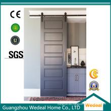 Personalizar Fábrica de puertas de granero corredizas de seis paneles