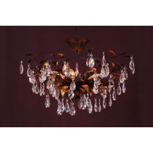 Nice Iron Wrought Crystal Chandelier Pendant Light (cos9223)