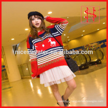 long styles loose knit womens wool sweaters wholesaler christmas jumpers
