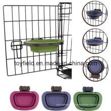 Alimentador para animales de compañía Food Warter Bowl para animales reciclables