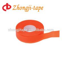 orange pvc flagging warning tape