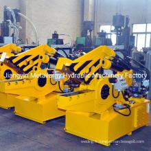 Cisaille crocodile hydraulique de levier de tube de tuyau de ferraille métallique