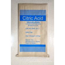 Grado alimenticio de monohidrato de ácido cítrico (CAM)