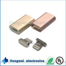 Aleación de la carcasa reversible del relámpago magnético USB Adapter