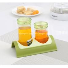 Nuevo diseño Spice Jars Kitchen Spice Rack
