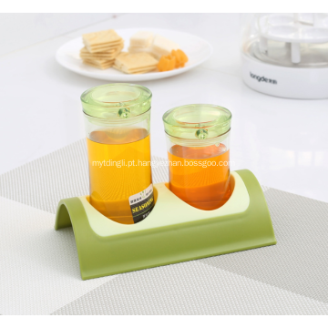 Novo Design Spice Jars Kitchen Spice Rack