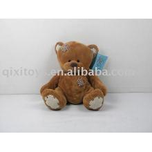 Plüsch-Patch braun Plüsch Teddybär