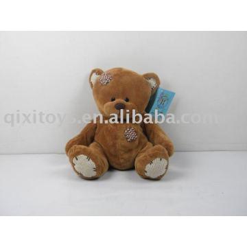 патч плюшевые коричневый плюшевый медвежонок плюша