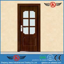 JieKai Hauptprodukte PVC Fenster und Türen / Bad PVC Türen Preise / frosted Glas Bad Tür