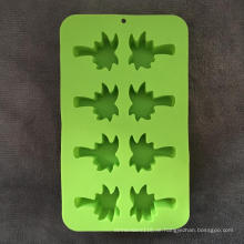 Kokos geformte multifunktionale Silikon Eisbox Kuchenform
