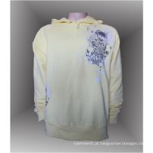 Pulôver masculino 100% algodão personalizado