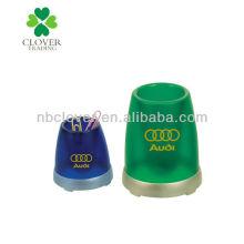 Dispensador magnético clip de papel em cores PMS