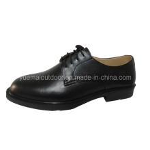 Militares de la alta calidad y zapatos de la oficina de la pol