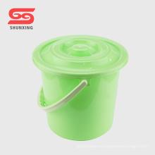 Artículo de limpieza de hogar 12L cubo plástico con tapa