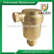 hot sale customized forged npt cw617n brass water pipe air vent valve