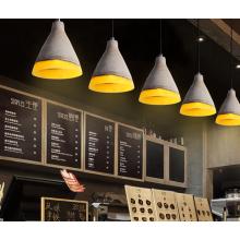 Nordic indoor hanging lamps concrete Industrial cement pendant lamp