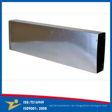 Hohe Qualität konkurrenzfähiger Preis-lange quadratische Rohr-Ventilations-Fertigung hergestellt in China