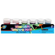 6 washable finger paint 2305#