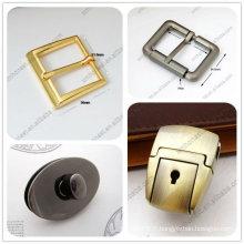 Boucle de ceinture en métal de mode