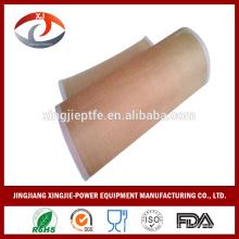 Ptfe antiadherente / teflón revestido precio de la cinta transportadora de malla, resistente al calor cinta transportadora de teflón