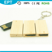 Swivel UDP Emboss Logo Bamboo 32GB USB Flash Drive