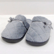 Indoor slipper plush women slipper sock cover soft ladies shoes