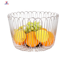 Contracted Hollow Out Round Fruit And Vegetable Basket