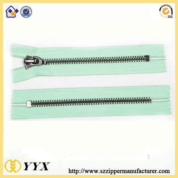 10 inch metal zippers