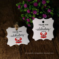 Thank You For Celebrating With Words Craft Paper Hang Paper Hang Tag