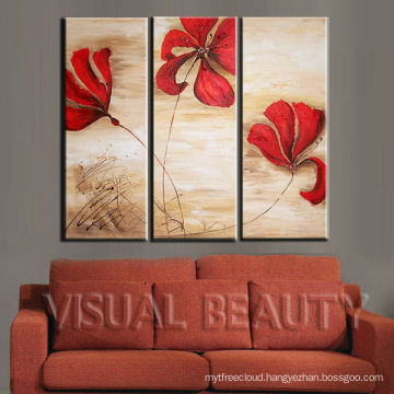 Modern Wall Art Handpainted Oil Painting in Group