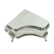 Piano Style Metal Jewelry Box, Shinning Jewelry Box