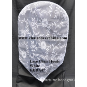 Lace Chair Caps White Hdda47