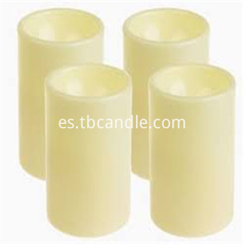 Lifetime guarantee plastic LED candle
