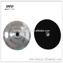 Almohadilla de aluminio para almohadillas de pulido flexible venta caliente