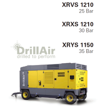 Atlas Copco High Pressure Portable Screw Air Compressor for Mining