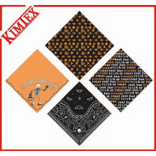 Fashion Festival Cotton Square Promotional Hallowmas Bandana
