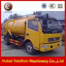 Fabrik-Preis von Dongfeng 4X2 Mini Vakuum-Abwasser-Saugwagen