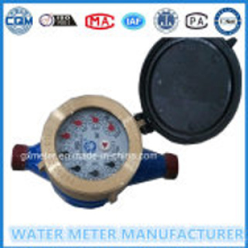 "Teknik meteran air ""C"" Jenis Kering Dial Register"