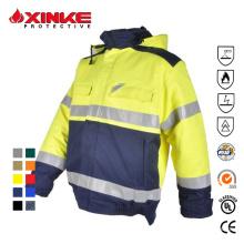 Certificaciones internacionales Hi Vis Safety Workwear Jacket