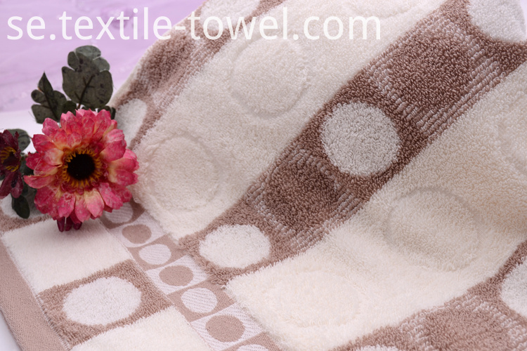 100% Cotton Towels Sale with bubble Jacquard