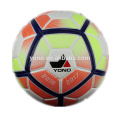 PU leather official size 5 football soccer ball custom or stock