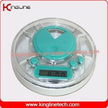 Kundenspezifische Farbzeit Alarm Pill Box (KL-9220)