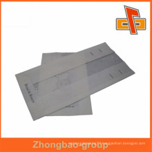Top quality custom kraft paper bag with side gusset china supplier