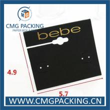 High Sales White Plastic Hook Jewelry Earring Display Card (CMG-106)