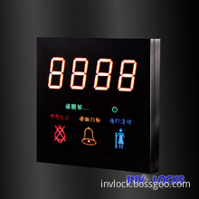 Luxury Hotel Electronic Door Plate ,Touch Door Bell Switch with LED Room Number Display (MP01-A)