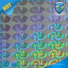 Autocollant d'hologramme de passe auto-adhésif de haute qualité contre la contrefaçon