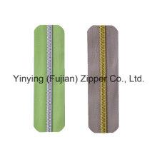 Hot Sales Nylon Cadeia Larga Zipper com todos os tipos
