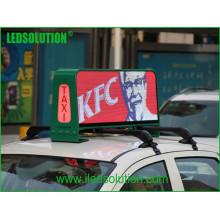 Ledsolution P5 Fulll Color LED Top Vídeo de Táxi