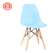 wholesale plastic chair steel turb leg plastic top chair for waiting room